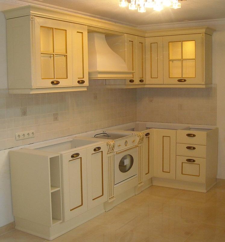 установка кухонной мебели 2